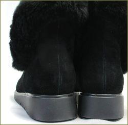 アシュライン ashline as9225bl ブラック  カカトの画像