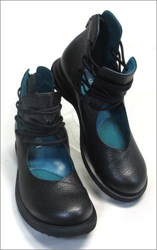 invina インビナ iv2218bl  ブラック 右靴の画像