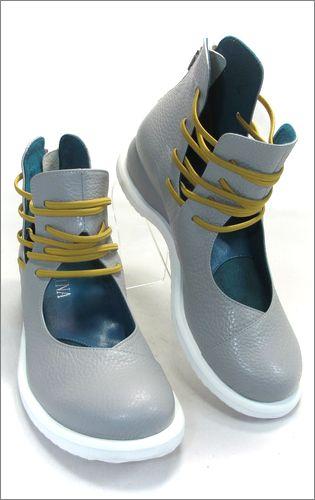 invina インビナ iv2218gy  アッシュグレー 右靴の画像