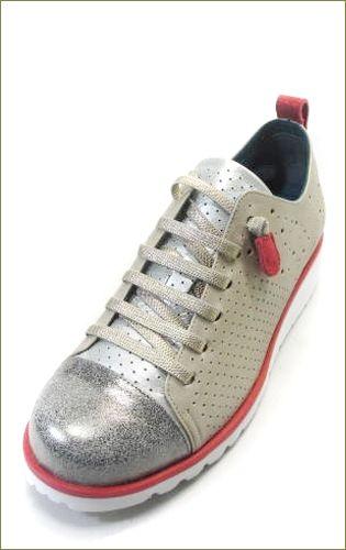 invina インビナ iv2411go  シルバーゴールドレッド 左靴の画像