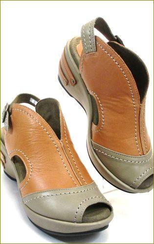 invina インビナ iv4101ok オークコンビ 右靴の画像