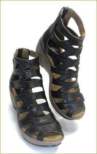 invina インビナ iv4211bl  ブラック 右靴の画像