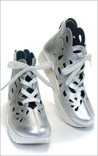 invina インビナ iv4452sl  シルバー 右靴の画像