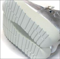 invina インビナ iv4452sl  シルバー 靴底の画像