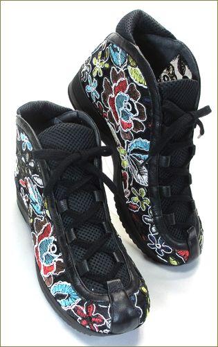 invina インビナ iv5550bl  ブラック 右靴の画像