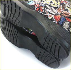 invina インビナ iv5550bl  ブラック 靴底の画像