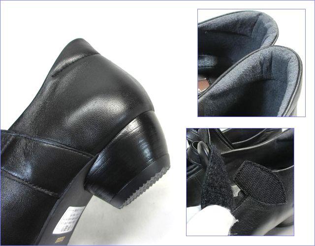 ビジェバノ vigevano  vg7002bl ブラック 部分画像