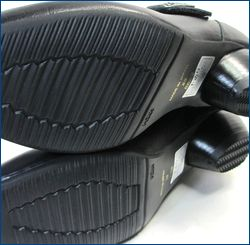 ビジェバノ vigevano  vg7026bl ブラック ソールの画像